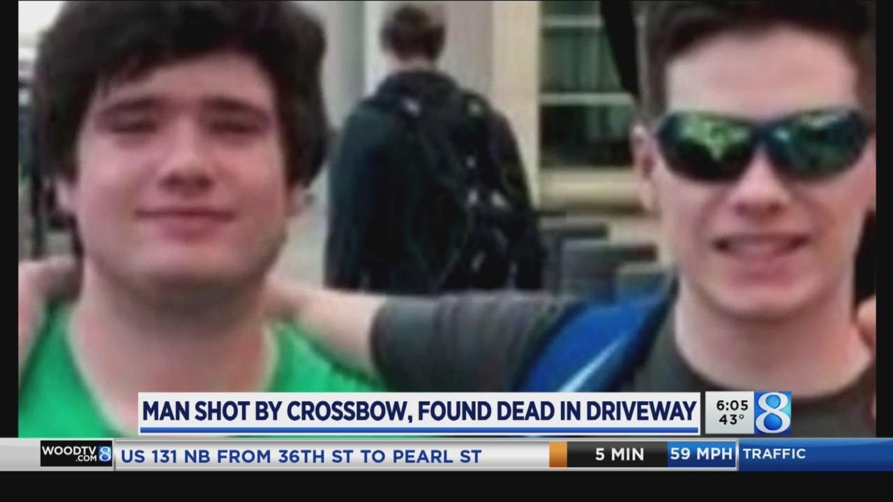 Man finds twin in driveway, killed by crossbow