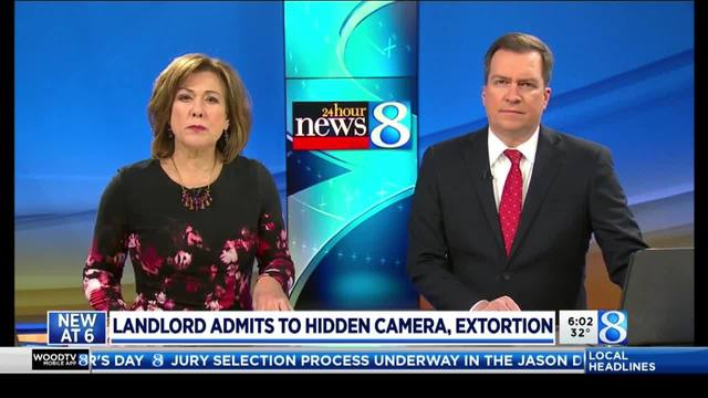 landlord confesses to hidden camera extortion
