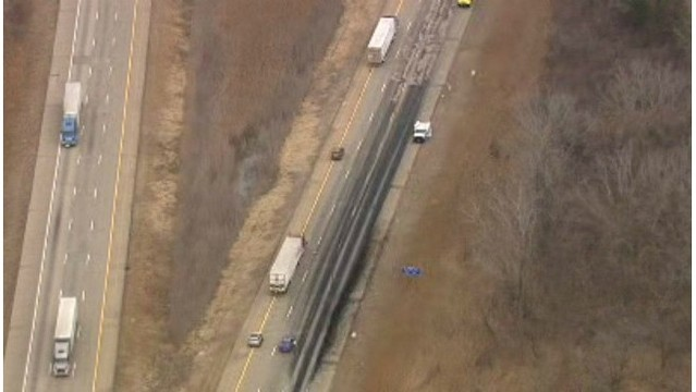 Feces on the freeway: Truck spill closes I-75