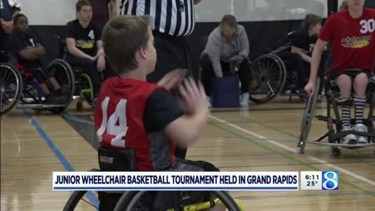Young Athletes Compete In Gr Wheelchair Basketball Tourney