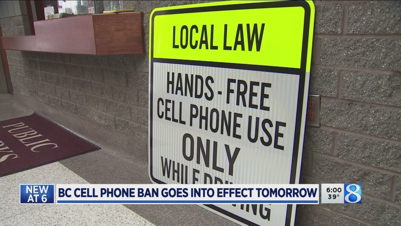 BCPD: Handheld cellphone ban will save lives