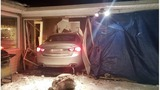Photos: Car crashes into Galesburg area home
