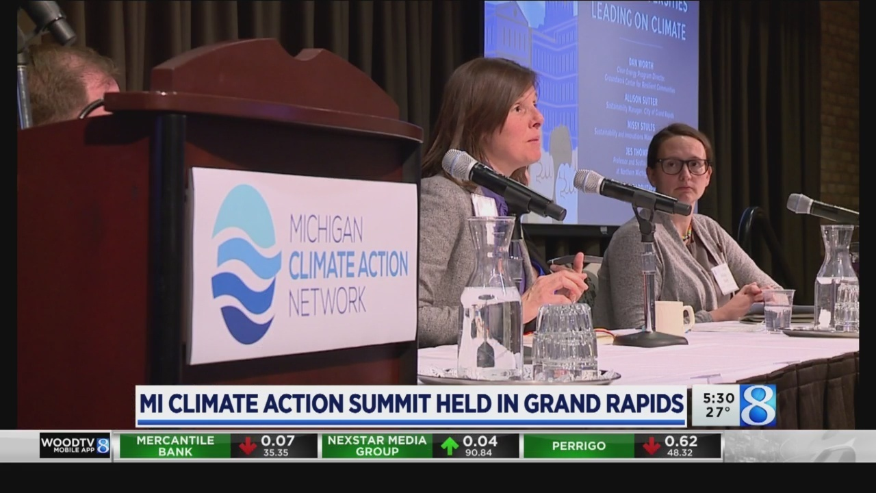 Michigan Climate Summit meets for the first year