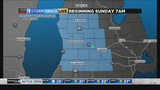 Sunday storm to bring strong winds, snow