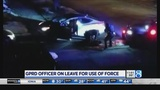 GRPD officer on leave for punching driver