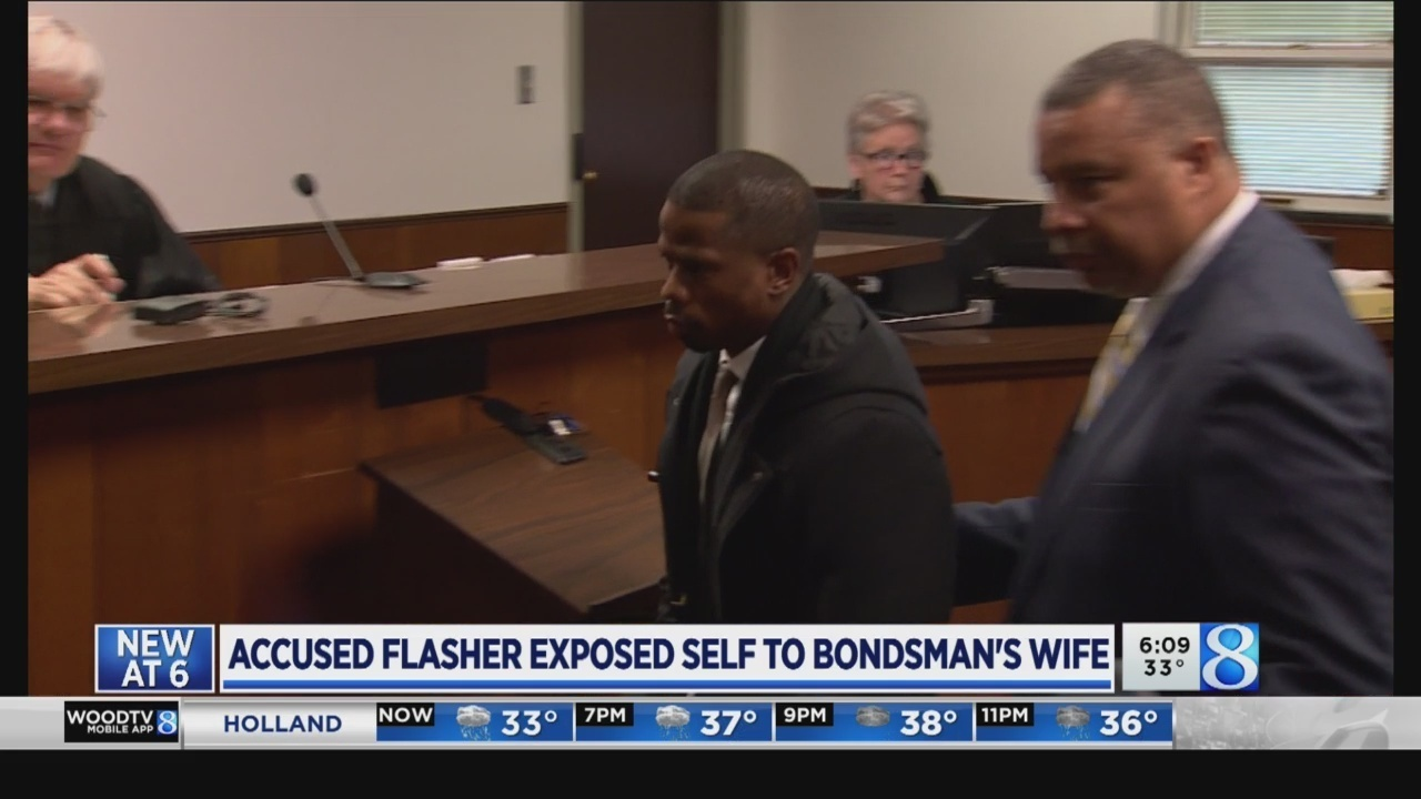 Victim's husband: Flasher picked the wrong woman