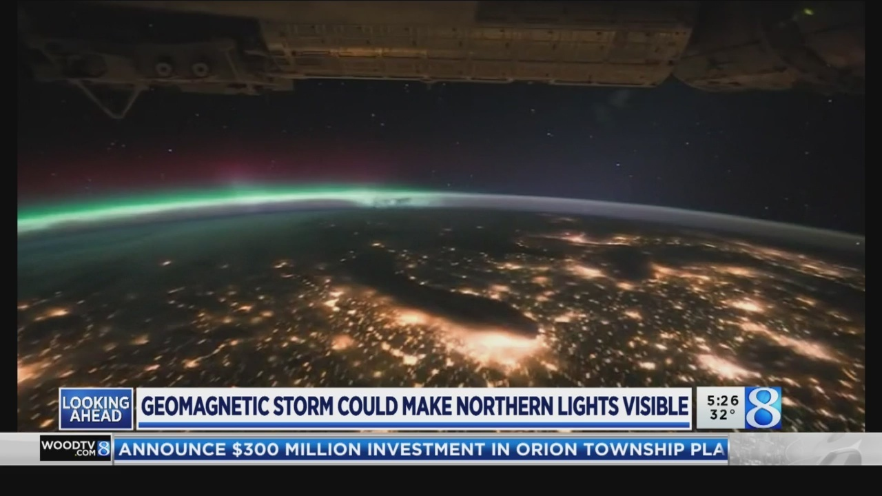 Aurora sighting possible this weekend