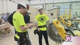 Local students learn to build a bright future through hands-on training