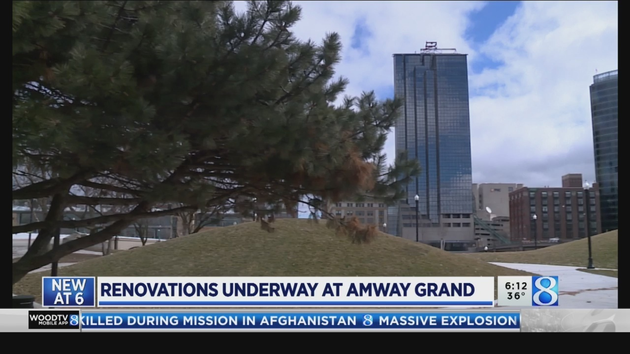 'A lot of planning' to pull off Amway Grand crane work