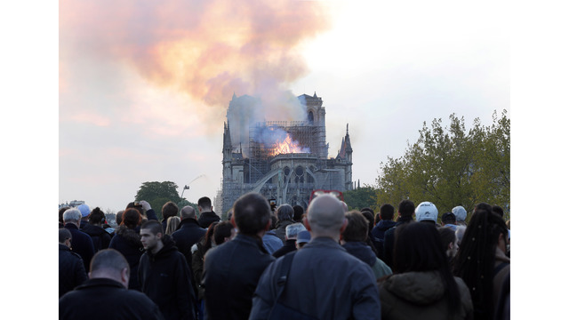 NOT SIZED Notre Dame Cathedral fire 041519 AP_1555372991061