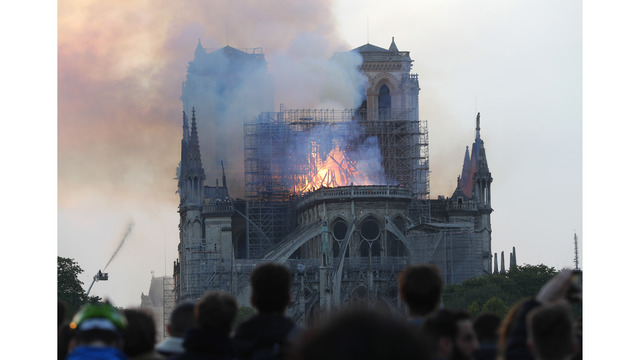 NOT SIZED Notre Dame Cathedral fire 041519 AP_1555372995621
