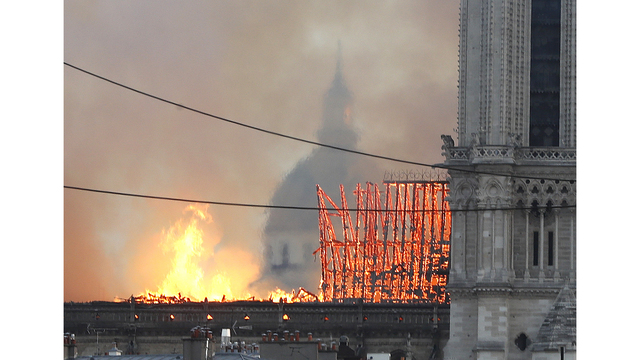 NOT SIZED Notre Dame Cathedral fire 041519 AP_1555372998483