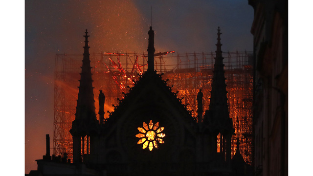 NOT SIZED Notre Dame Cathedral fire 041519 AP_1555373010556