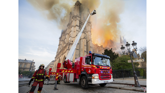 NOT SIZED Notre Dame Fire