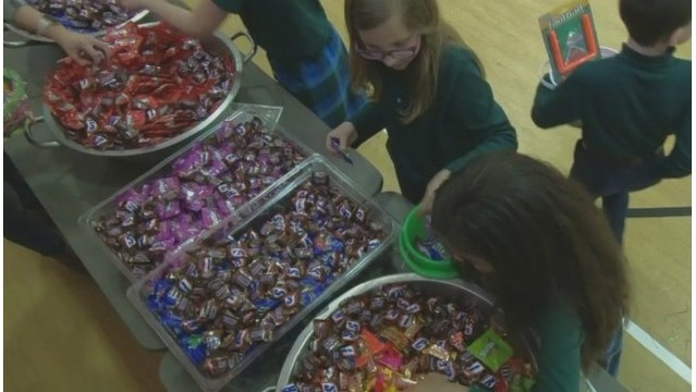 Local 3rd graders filling much more than Easter baskets