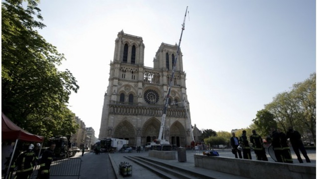 Fire-ravaged Notre Dame now stabilized, firefighters leave