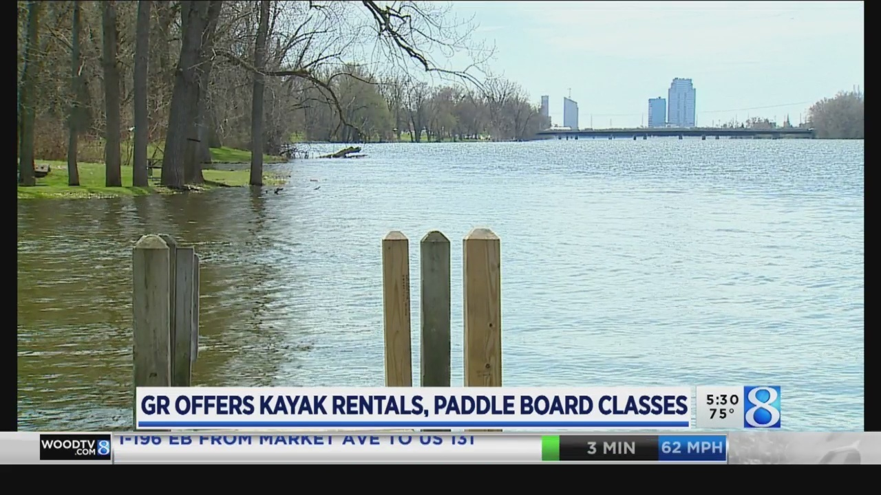 Kayak rentals at Riverside Park start Friday