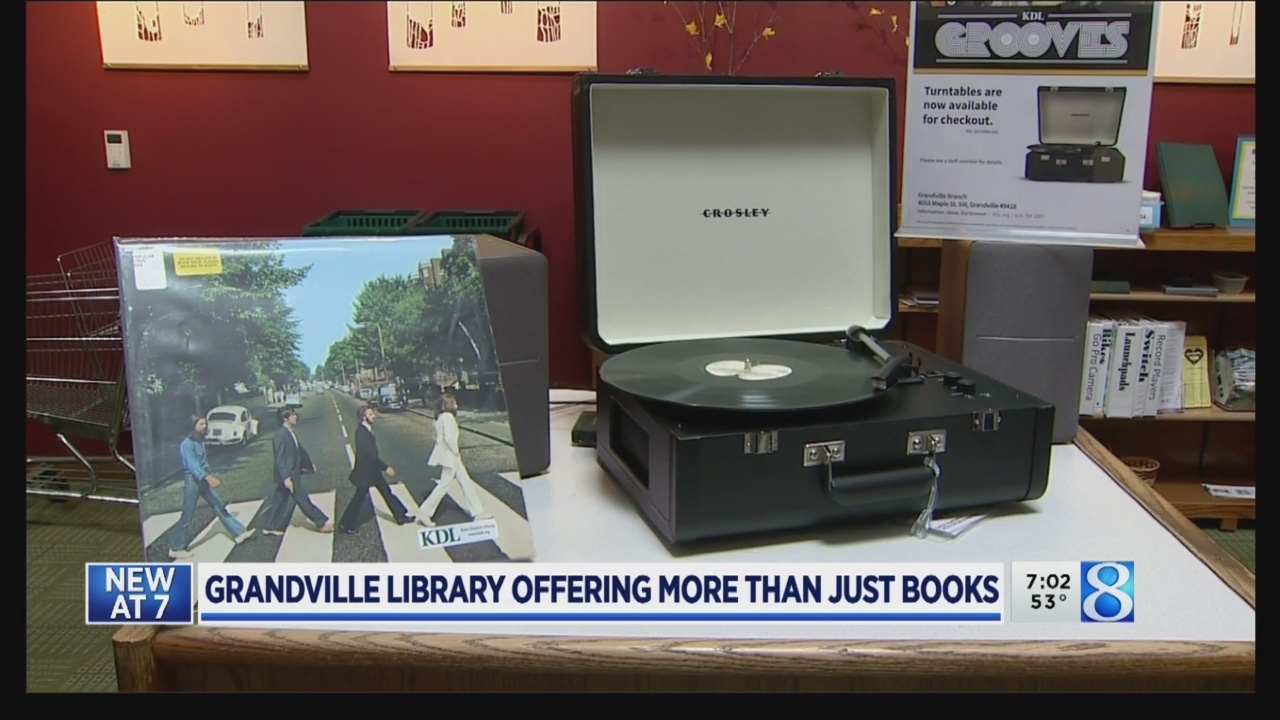 Libraries go 'beyond books' with vinyl, kayaks, more
