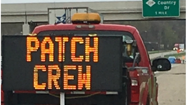 MDOT tests out new signs to keep crews safe