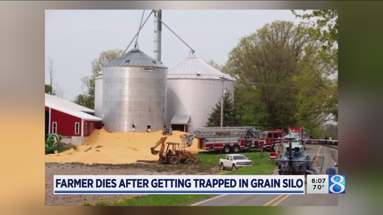 Barry Co. silo accident kills farmer