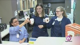 Surprising Holland Hospital nurses with a sweet treat from BIGGBY COFFEE