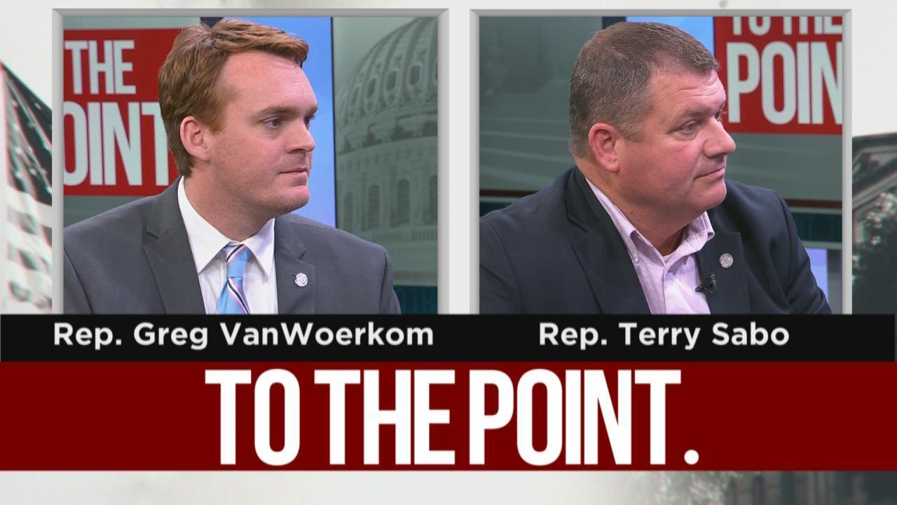 To The Point: Reps. Greg VanWoerkom, Terry Sabo